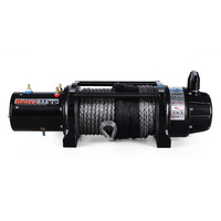 Runva 11XP 12V Dyneema BLACK Premium Edition Winch