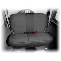Rugged Ridge Neoprene Rear Seat Cover, Black - JK Wrangler 2007 on