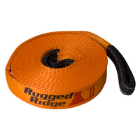 Rugged Ridge Recovery Strap,  4-inch x 30 feet 40,000Lb