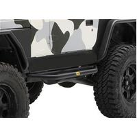 Smittybilt SRC Rock Sliders & Side Step for YJ & TJ 87-06 Wrangler