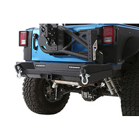 Smittybilt XRC GEN 2 Stubby Rear Bumper Bar with optional Tyre Carrier for JK Wrangler 2007+