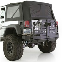 Smittybilt XRC Atlas Rear Bumper Bar & Tyre Carrier JK Wrangler