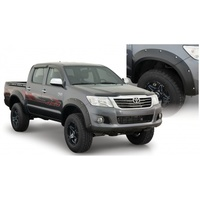 Bushwacker Pocket Flares for Toyota Hilux 2011 to 2014