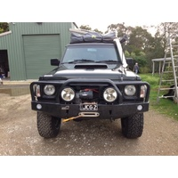 Uneek Front Bumper Bull Bar for Nissan Patrol GQ 1988-1997