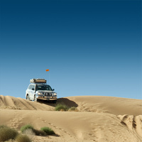 Bush Ranger 4x4 Safety Sand Flag