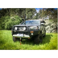 Uneek Empire Front Bumper Bull bar Toyota Hilux 2017+