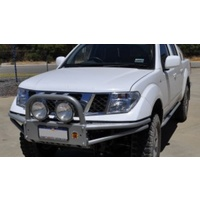 XROX Winch Bumper Bull Bar for Nissan Navara D40 - Thailand built models (all years)