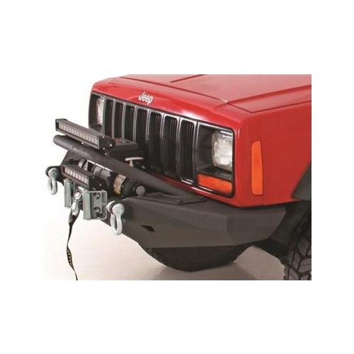 Smittybilt XRC Rock Crawler Winch Front Bumper with D-ring Mounts XJ Cherokee 84 - 01