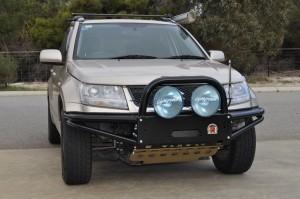Xrox Winch Bumper Bull Bar For Suzuki Grand Vitara Jb 08