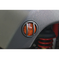 Rugged Ridge Side Marker Light Euro Guards (pair) - JK Wrangler 2007 on