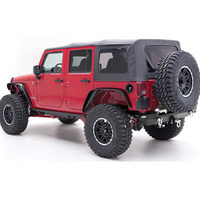 Smittybilt Soft Top OEM Replacement 4 DR JK Wrangler 07 to 09