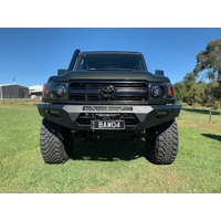 Offroad Animal Predator Bumper Bull Bar Toyota Landcruiser 76, 78, 79 series 2007+