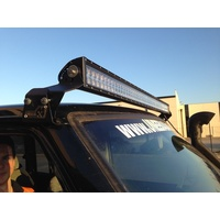 "Uneek Nissan Patrol GQ 50"" Light bar Gutter Mounts"