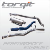 "3"" Turbo Back Stainless Steel Exhaust - Isuzu DMax 10/2008 to 7/2012"
