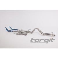 "3-4"" DPF Back Stainless Steel Exhaust - Toyota Landcruiser 200 Series DPF Model 10/2015+"