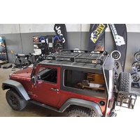 Uneek JK Wrangler Roof Rack Sun Roof Panel