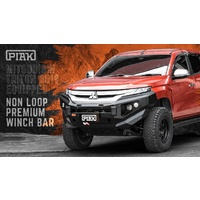 PIAK Non-Loop Elite Front Bull Bar - Mitsubishi Triton MR 2019+