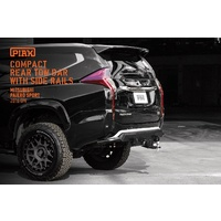 PIAK Compact Rear bar w/ Side Rails - Pajero Sport 2016+