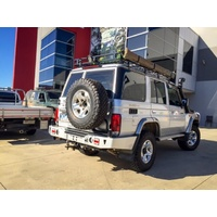 Uneek Rear bar & Tyre Carrier Toyota Landcruiser 76 Series