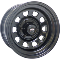 "Dynamic Wheel Co. Dynamic D 17x8"" Steel rims"