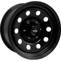 "Dynamic Wheel Co. 10 Round Hole 17x8"" Steel Rims"