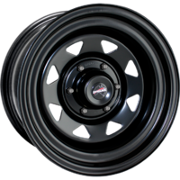 "Dynamic Wheel Co. Sunraysia 16x10"" Steel rims Black"