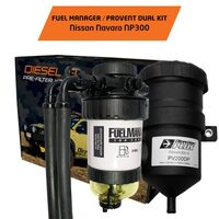 Diesel Pre-Filter & Catch Can Combo - Nissan Navara NP300 2015+