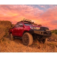 SLX4x4 Extreme Series Front Bumper Bull Bar Toyota Hilux N80 Revo 2015 to 2018