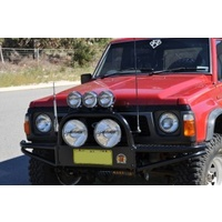 XROX Winch Bumper Bull Bar for Nissan Patrol GQ