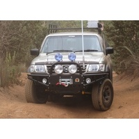 XROX Winch Bumper Bull Bar for Nissan Patrol GU Series 1,2,3 1999 to 11/2004