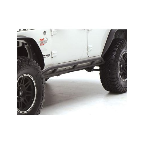 Smittybilt Rock Crawler Sliders Rocker Guards JK Wrangler 4 DR