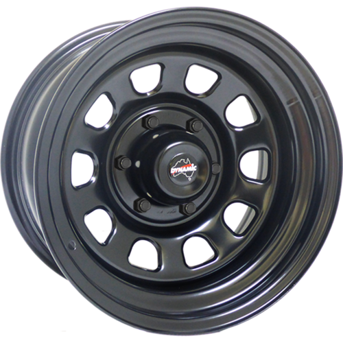 "Dynamic Wheel Co. Dynamic D 17x9"" Steel rims"