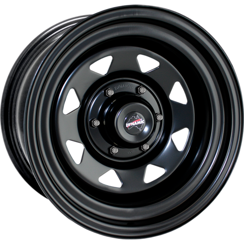"Dynamic Wheel Co. Sunraysia 15x7"" Steel rims"